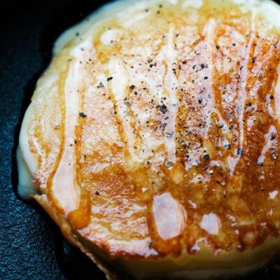 幌延産シコロはちみつがけカチョカバロチーズ